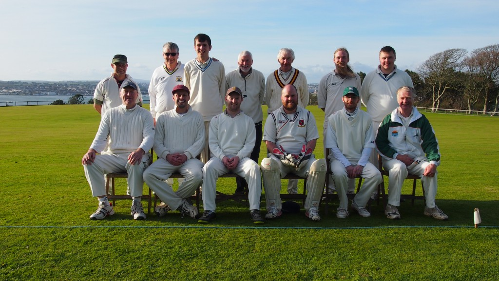 The Mt Edgcumbe XII who played Cavendish Cavaliers, including the Scorer.